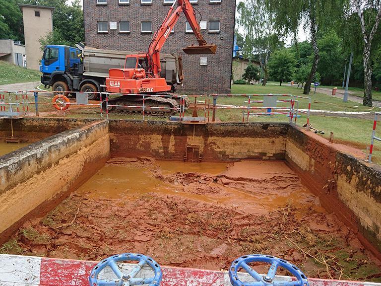 czyszczenie zbiornika technologicznego